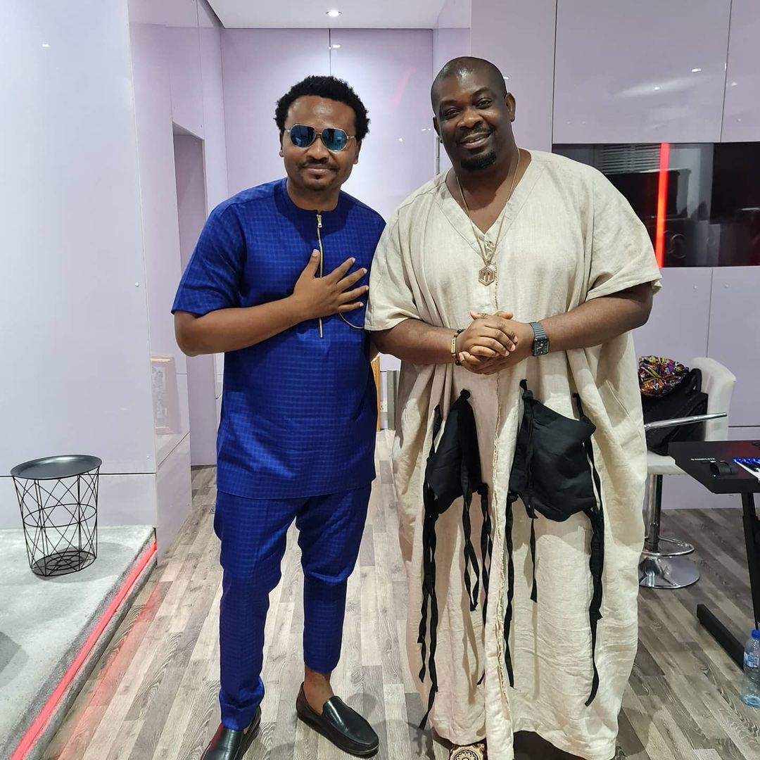 Eezee Conceptz Pays Don Jazzy A Visit At Mavin Records Villa