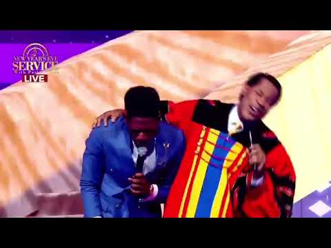 Moses Bliss and Pastor Chris Oyakhilome