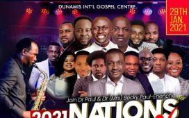 Nations Worship In His Presence 2021- Dunamis Church Tv