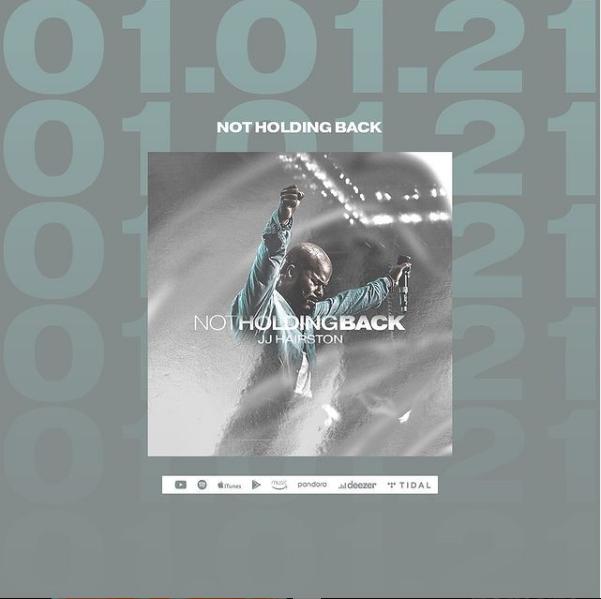Not Holding Back - JJ Hairston 11th Album