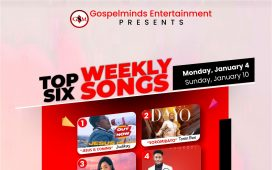 Top 6 Nigerian Gospel Music 1st Week New Song 2021