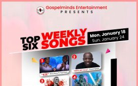 Top 6 Nigerian Gospel Songs Of The Week January 2021, Week 3