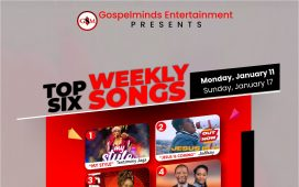 Top 6 Weekly Nigerian Gospel Songs 2nd Week Of January 2021