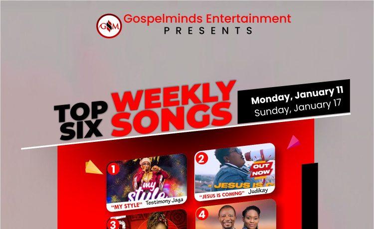 Top 6 Weekly Nigerian Gospel Songs 2nd Week Of January 2021