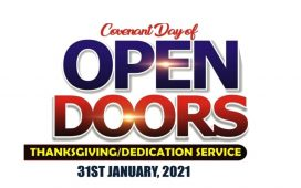 DOMI Stream - Covenant Day Of Open Door Service
