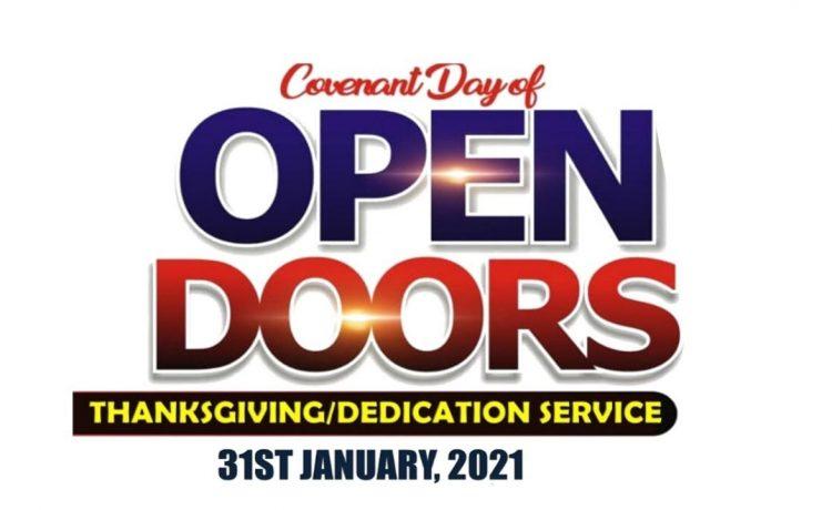 DOMI Stream - Covenant Day Of Open Door Service