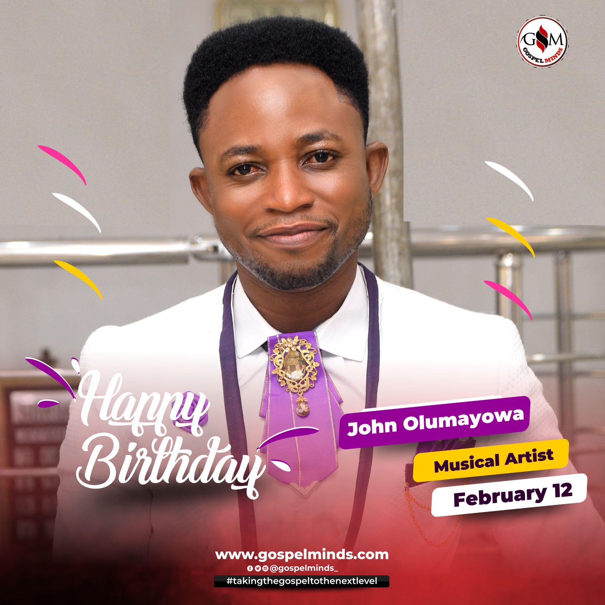 Happy Birthday To John Olumayowa