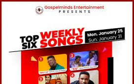 [January 2021 Week 4] Top 6 Nigerian Gospel Songs Of The Week