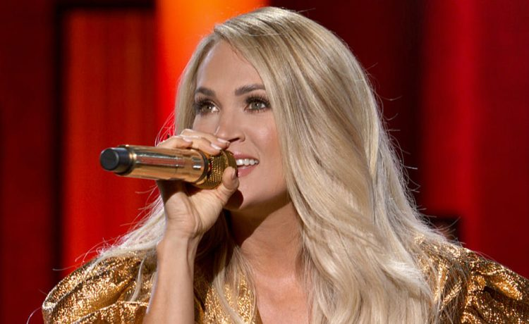 Carrie Underwood Performs Gospel Album Songs On 'TODAY' Live Show