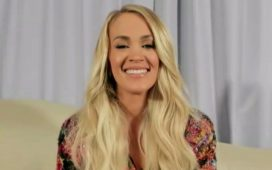 Carrie Underwood on the TODAY Live Show