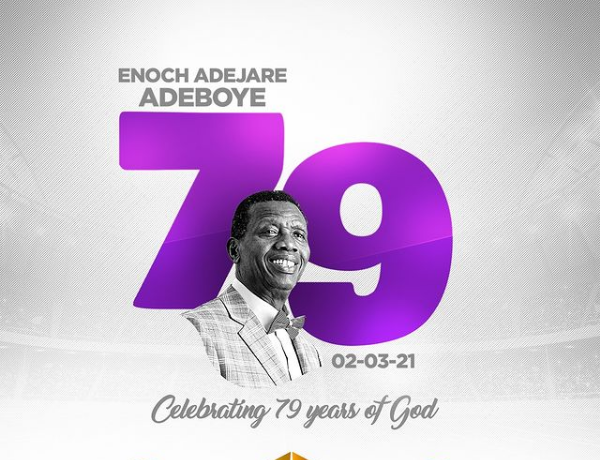 Happy 79th Birthday Celebration To Pastor Adeboye