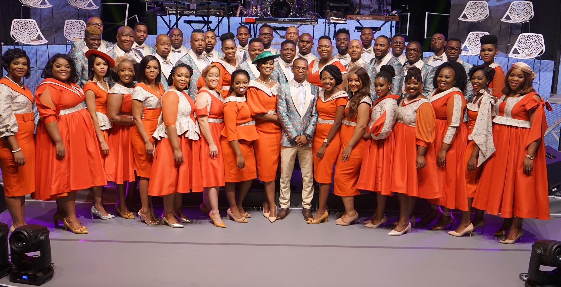 South African Gospel choir Group Joyous Celebration 25