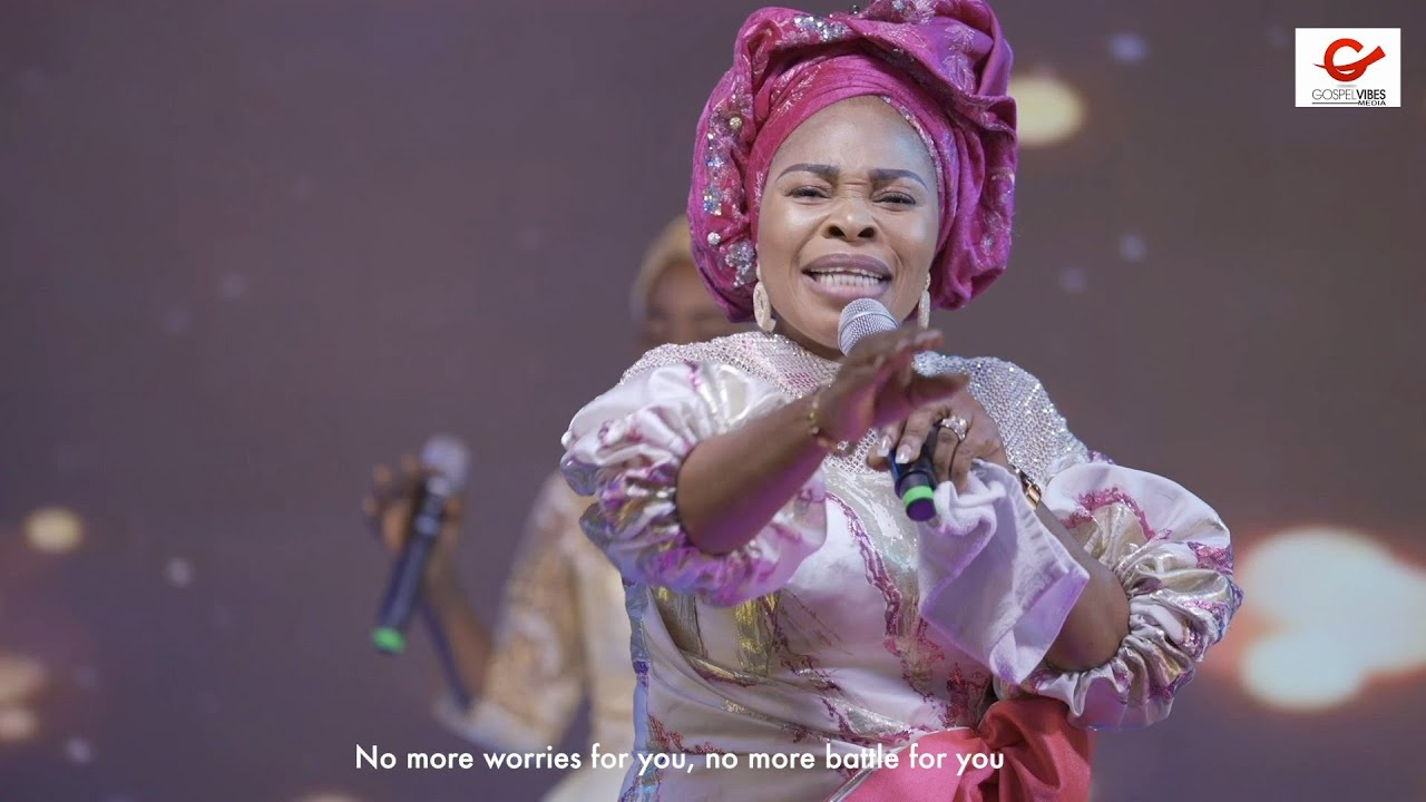 Tope Alabi - Altar Of Praise and Worship at Praise The Almighty 2021