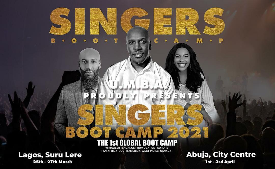 UMBA Proudly Presents The Ultimate Singers Boot Camp 2021