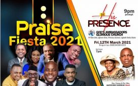 Ughelli Lights Up With Praise Fiesta 2021