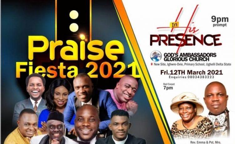 Ughelli Lights Up With Praise Fiesta 2021