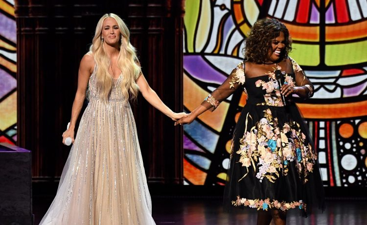 Carrie Underwood and CeCe Winans Powerful Gospel Medley 2021