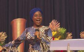Deborah Paul-Enenche Ministering at March 2021 Worship Night