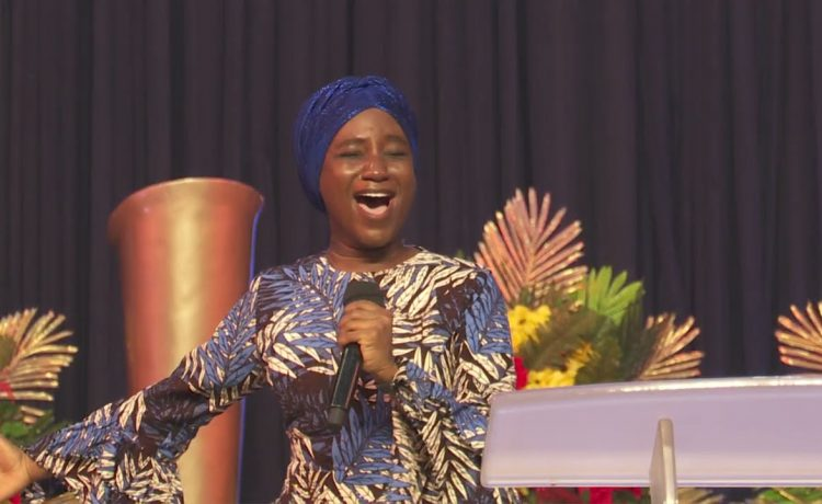 Deborah Paul-Enenche Ministering at March 2021 Worship Night