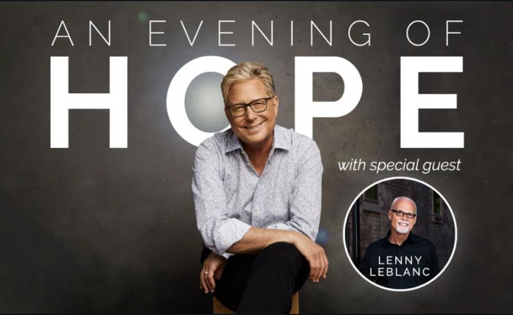 "Don Moen ""An Evening Of Hope"" Livestream Concert with Lenny LeBlanc"