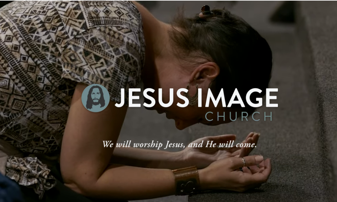 Jesus Image Sunday Night Service