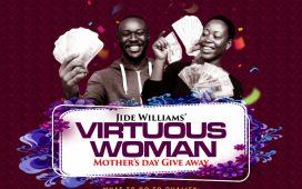 Jide Williams 100K Voucher Giveaway