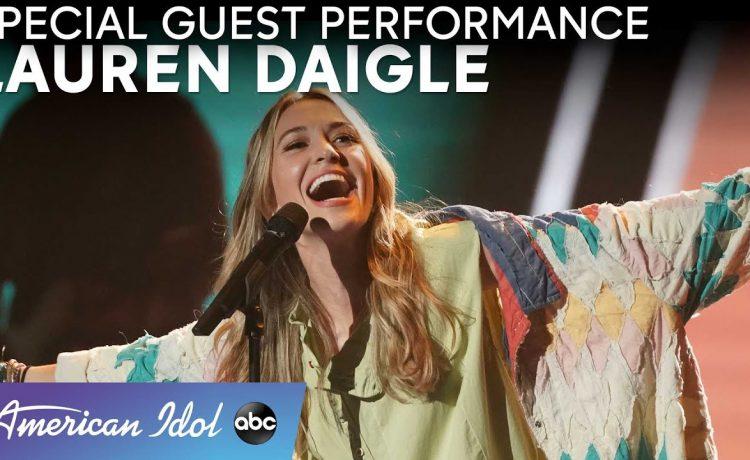 Lauren Daigle Live Performance American Idol 2021