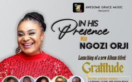 Ngozi Orji In His Presence 2021 Album Launch