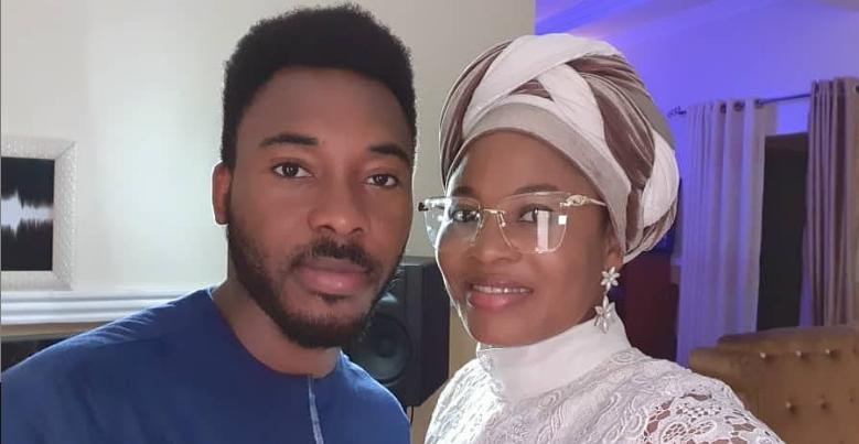Psalmos and her husband Mr Dekunle Oniyo