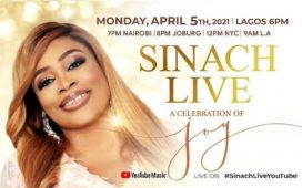 Sinach at Easter Celebration Of Joy Live Concert 2021 Video