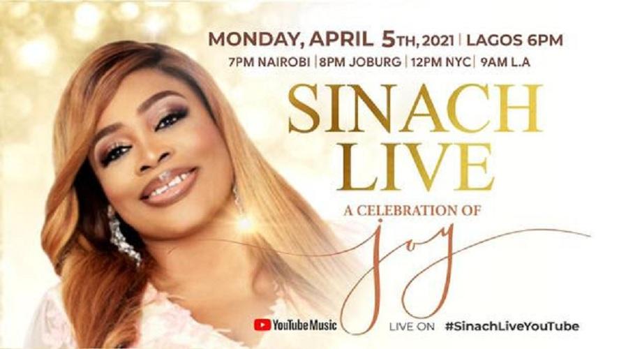 Sinach at Easter Celebration Of Joy Live Concert 2021 Video