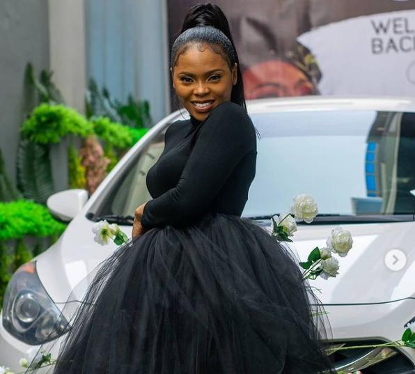 Minister Chidinma New Car and Birthday Dress