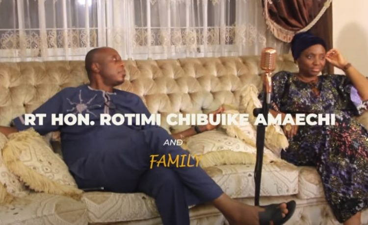 Rotimi Amaechi - Blessed The People (Psalm 23)
