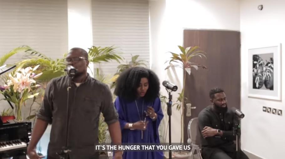 TY Bello New Spontaneous Worship Session Video ft. Tomi Arayomi, Nosa