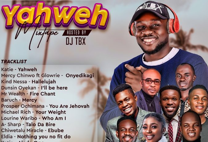 DJTbx - Yahweh Mixtape 2021 (Audio)