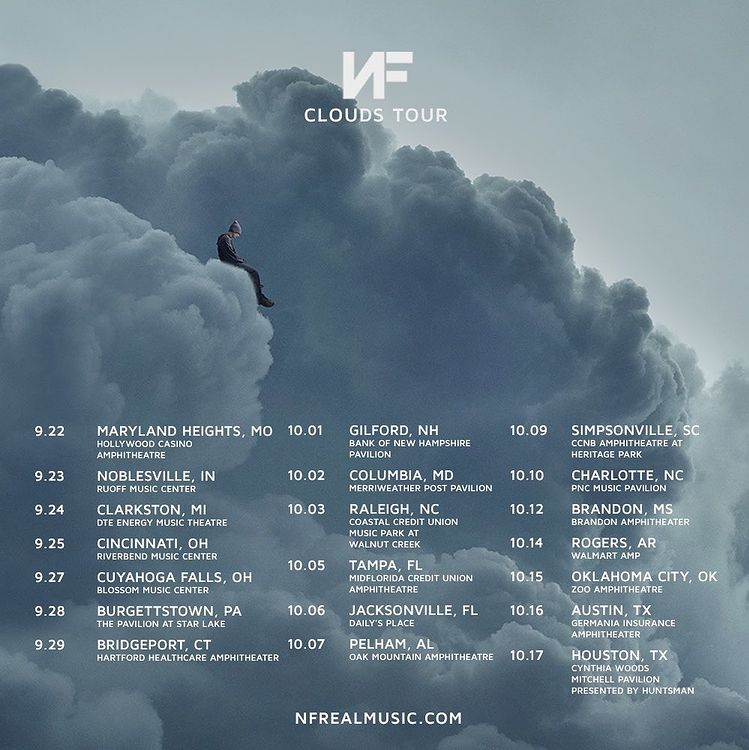 Rapper NF Unveils 2021 North American Clouds Tour
