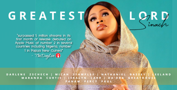 Have you listened to the 'Greatest Lord' Album By Sinach
