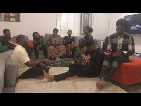 Lawrence Oyor and Family Spontaneous Song Covers