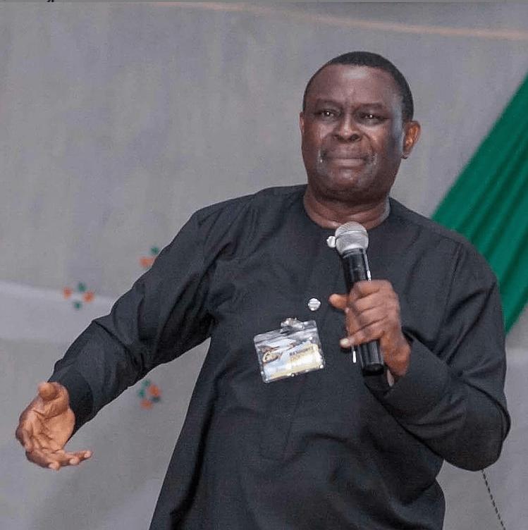 Nigerian film actor Mike Bamiloye