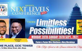 God's City International Church host Next Level Conference 2021