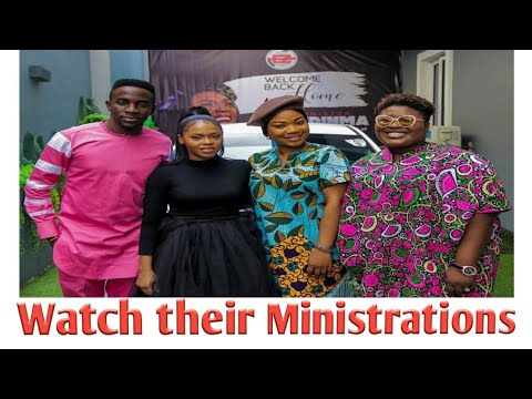 Mercy Chinwo, Judikay, GUC and Chidinma Ministers at Eezee Conceptz