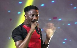 Peterson Okopi Live Ministration at COZA Abuja
