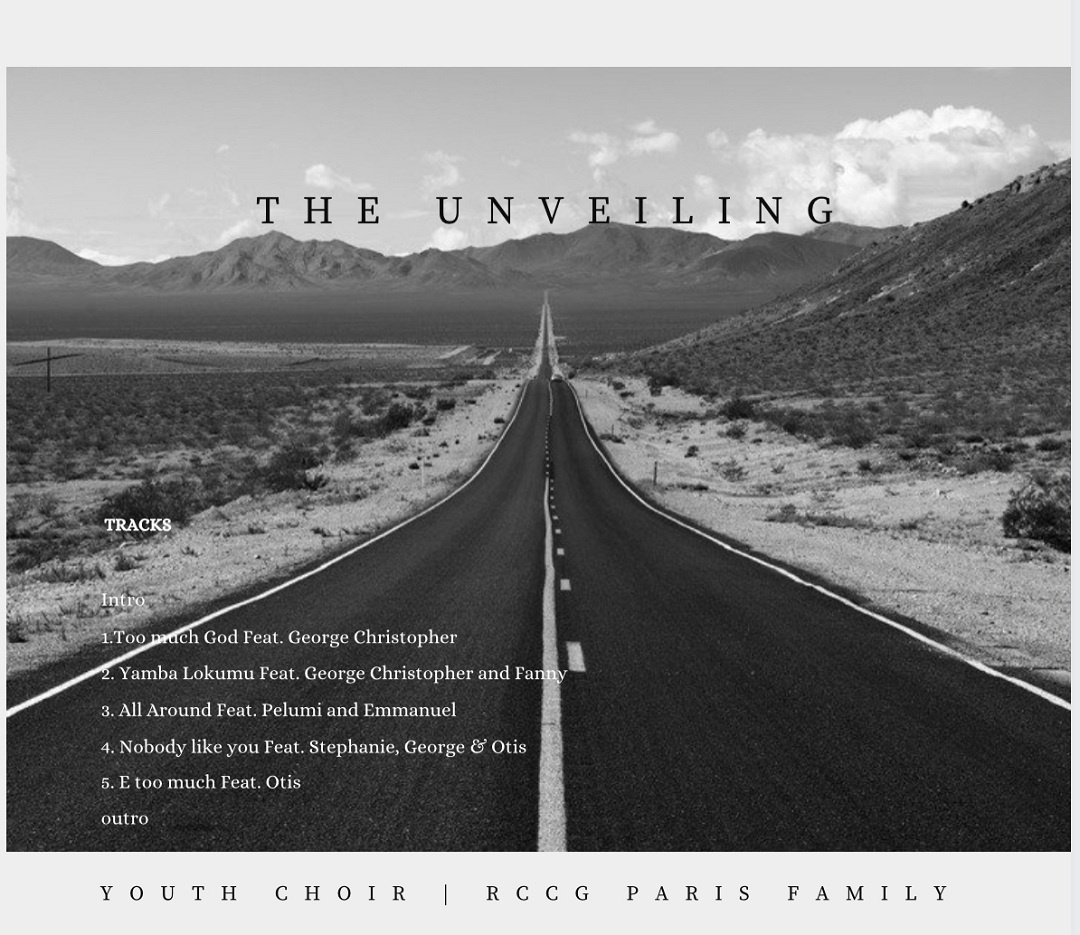 "RCCG Youth Choir Paris Family ""The Unveiling"" Album"